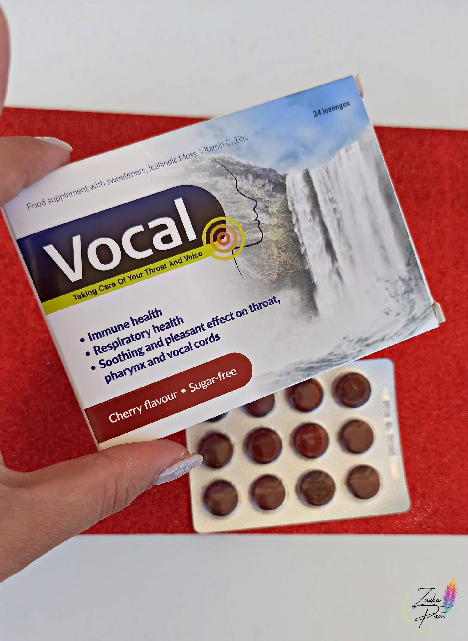 Vocal wiśnia Taking care od your throat and voice
