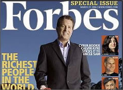 Calvin Ayre on the cover of Forbes