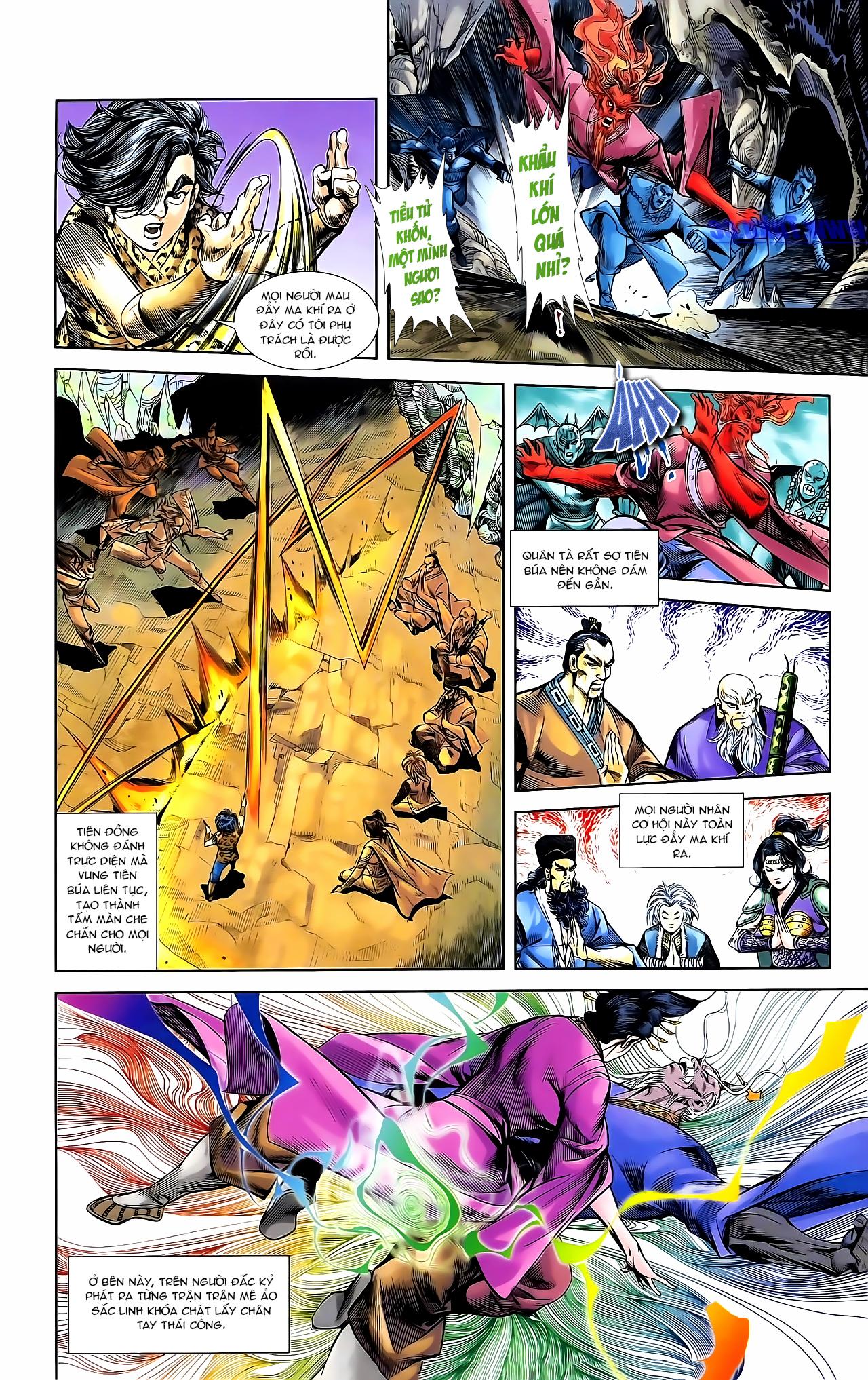 Cơ Phát Khai Chu Bản chapter 162 trang 17
