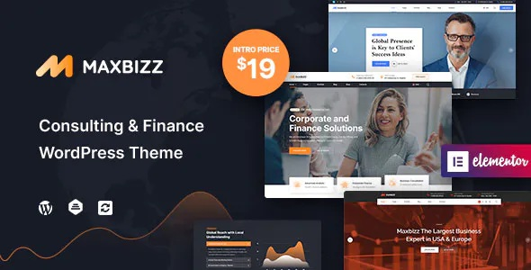 Best Consulting and Financial Elementor WordPress Theme