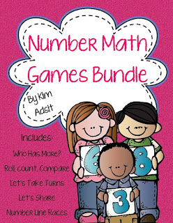 https://www.teacherspayteachers.com/Product/Number-Math-Game-Bundle-by-Kim-Adsit-668129