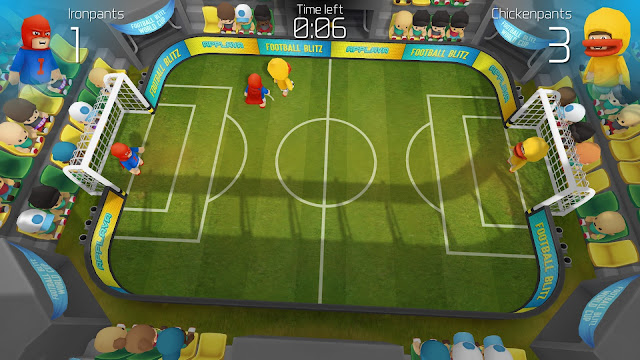 Screenshot from Football Blitz