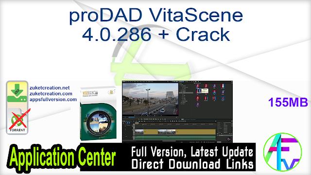 proDAD VitaScene 4.0.286 + Crack