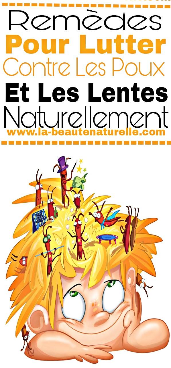 Remèdes pour lutter contre les poux et les lentes naturellement