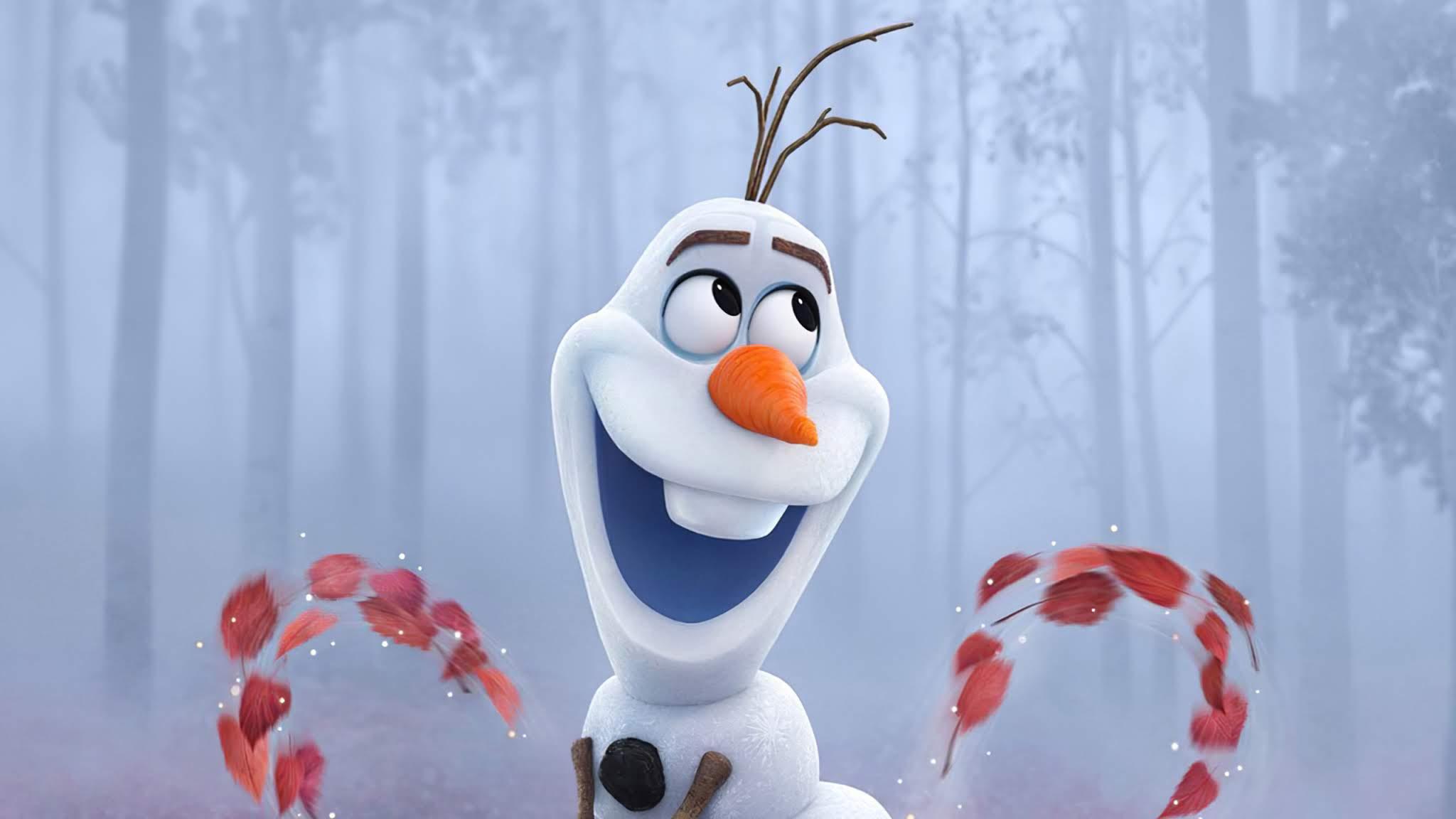 Olaf Frozen 2 Wallpaper