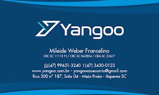 Yangoo Contabilidade Digital para Itapema, Florianópolis, Joinville, Itajaí, Balneário Camboriú, Blumenau, Chapecó e toda Santa Catarina
