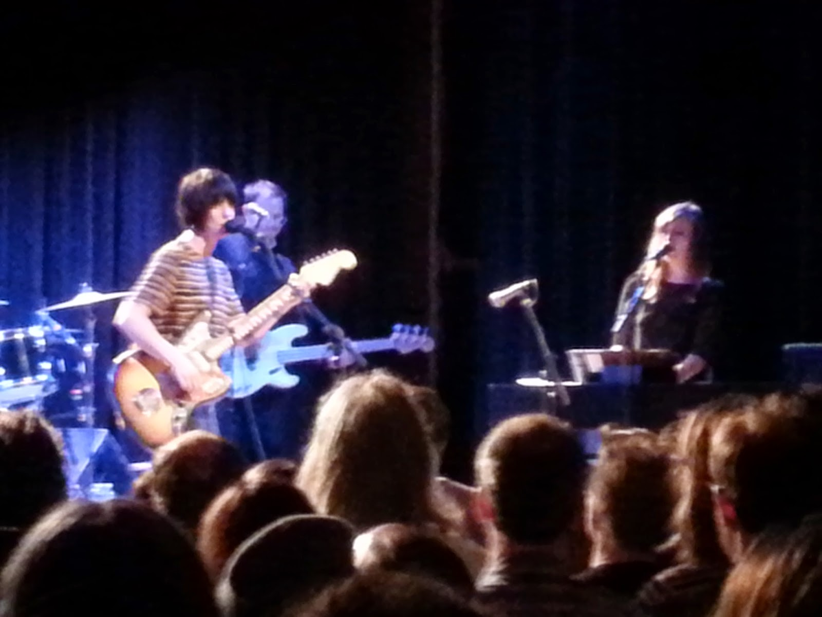 Sharon Van Etten with Brad Cook and Heather Woods Broderick at Warsaw.