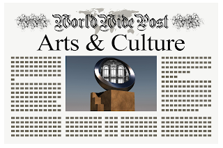 Newspaper with Art and Culture topic