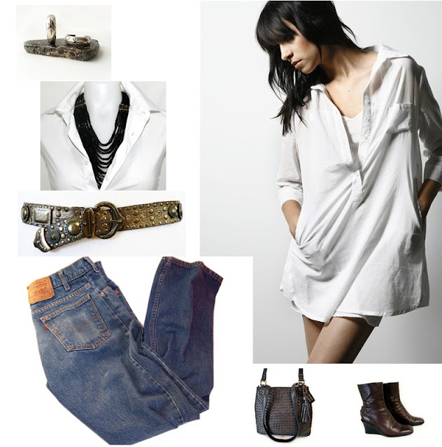 Vintage Boyfriend Casual Fashions & Accessories