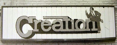 Creation marquee in West Orange, New Jersey