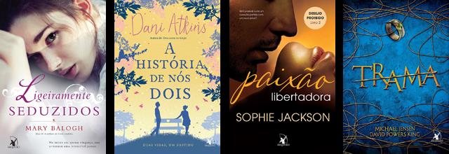 Lançamento de Livros - Abril / Editora Arqueiro