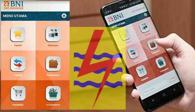 Membeli Token Listrik melalui Aplikasi SMS Banking BNI