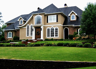 Tips on choosing Paint Colors Luxury minimalist house front view