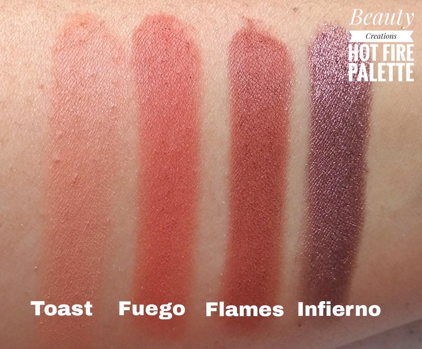 Warna favorit saya di palette ini adalah miami ignite dan fuego Tiga warna ini cakep bangeeet kalau dipakai di mata
