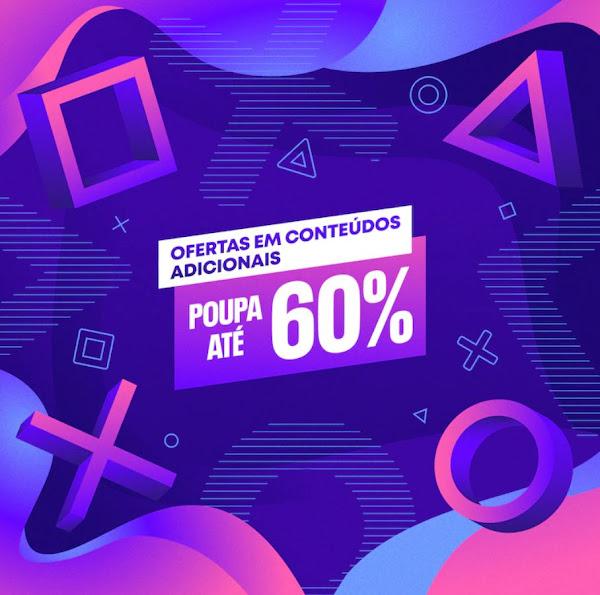 """Campanha """"Ofertas em Conteúdos Adicionais"""" também chega à PlayStation®Store"""