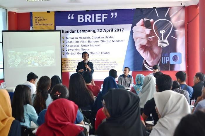 Darmajaya Technopreneurship 2017 Tahap Brief Hadirkan 11 Penggiat Startup