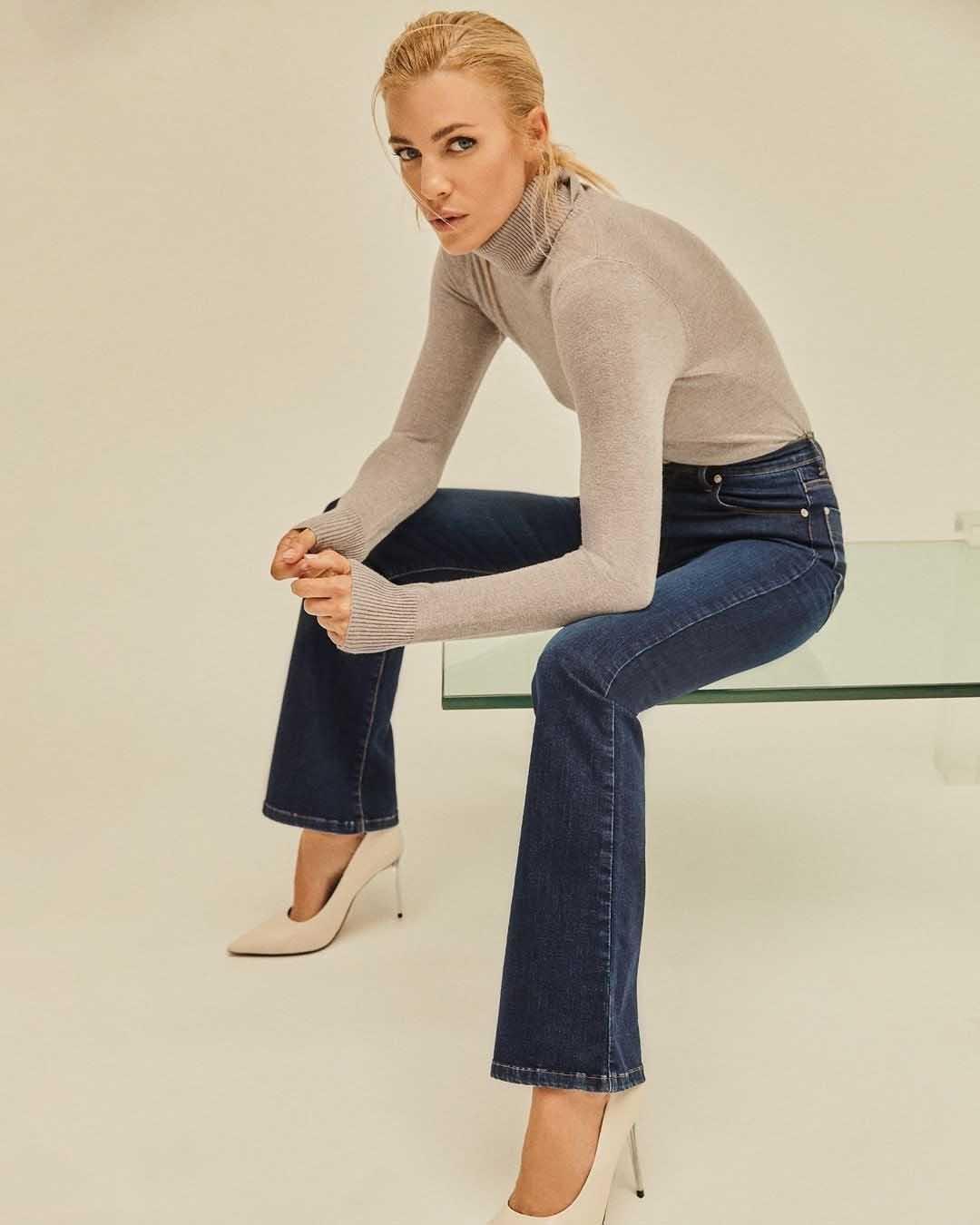 pantalones de jeans invierno 2021 moda invierno 2021 mujer