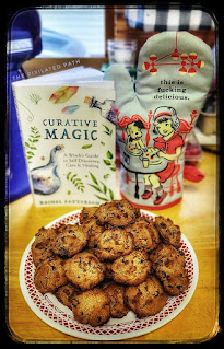 Cloves, Cinnamon, & Chocolate Cookies from Curative Magic by Rachel Patterson