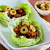 Low-Carb Turkey Picadillo Lettuce Wraps