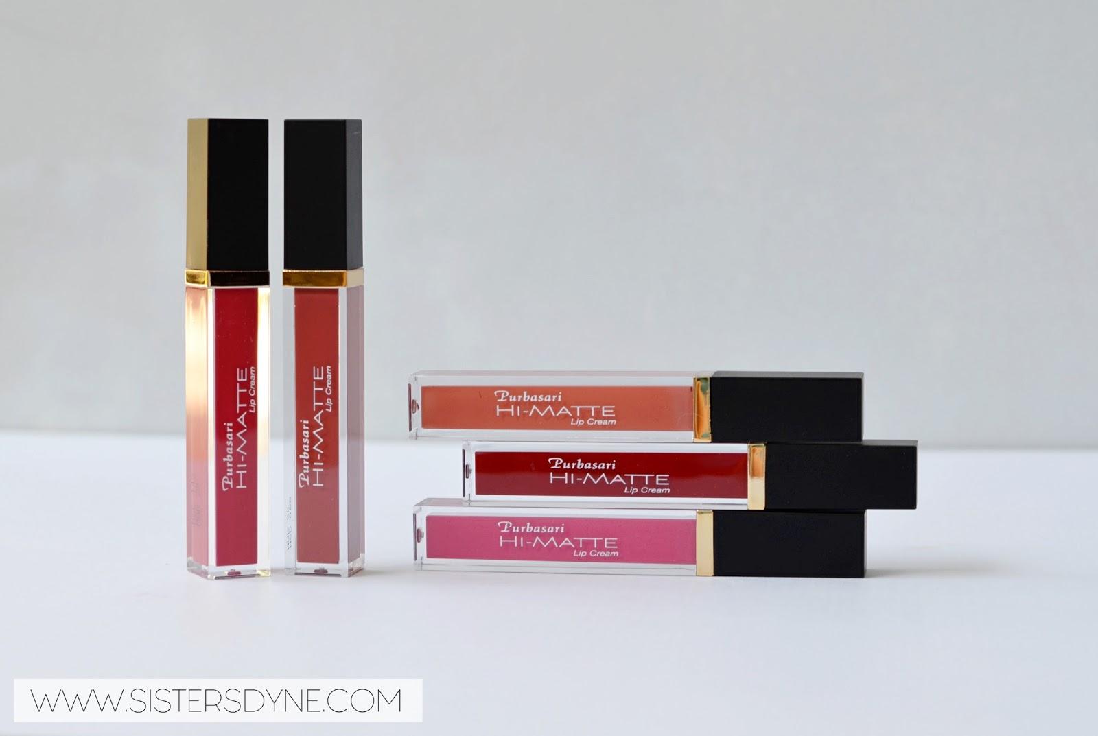 Da Sisters Blog Review Swatch Purbasari Hi Matte Lip Cream All Shade