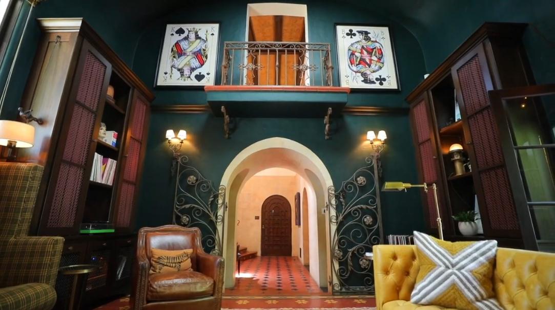23 Interior Design Photos vs. 1920s Spanish Home Los Feliz, CA Tour