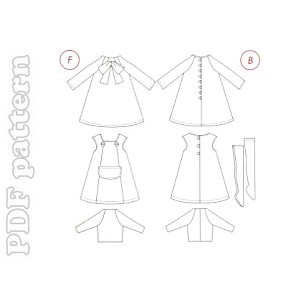 BLYTHE DOLL SEWING PATTERNS » Patterns Gallery