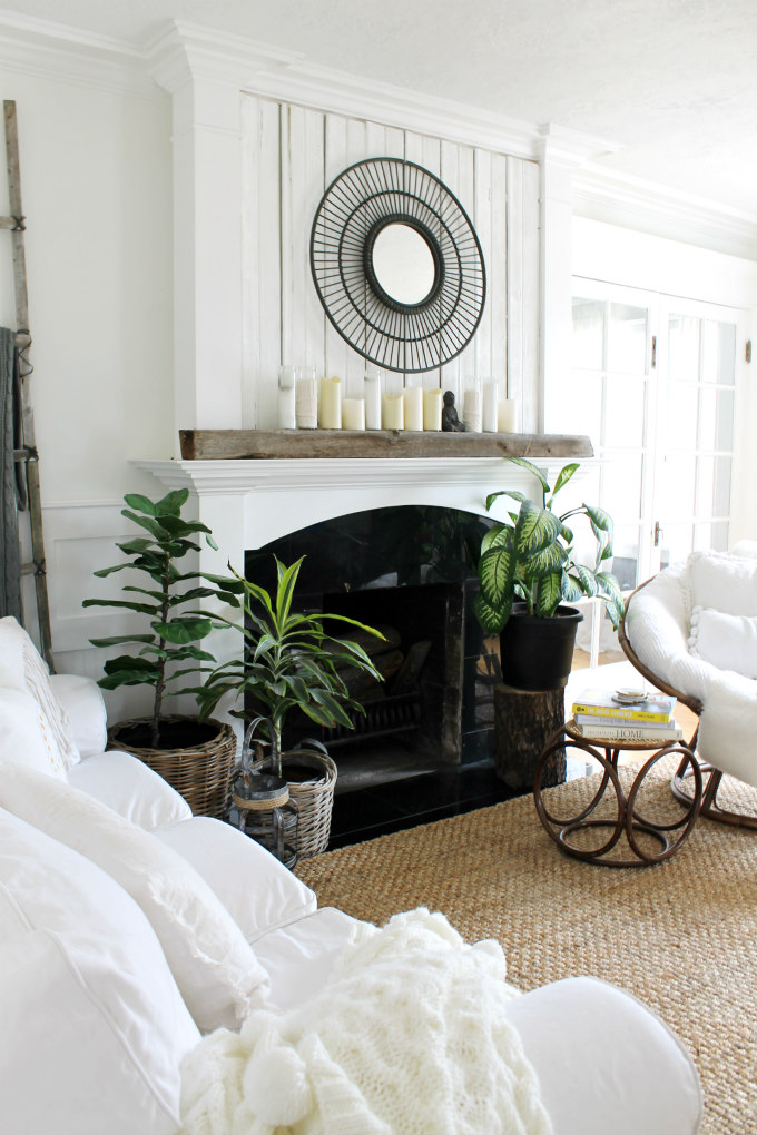 neutral zen living room a new rug the wicker house. Black Bedroom Furniture Sets. Home Design Ideas