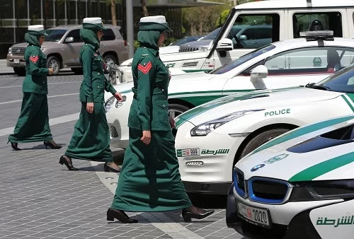 The usual things in Dubai but strange to visitors