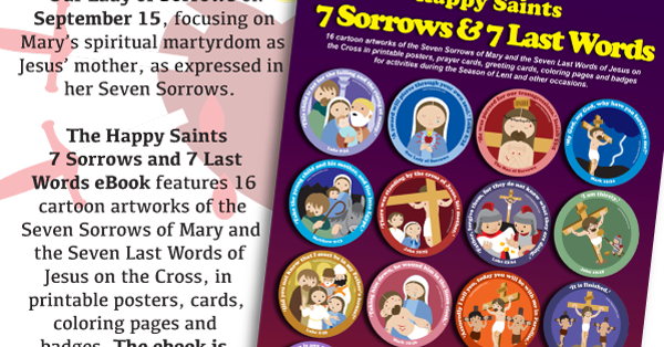 Happy Saints September Is The Month Of Our Lady Of Sorrows