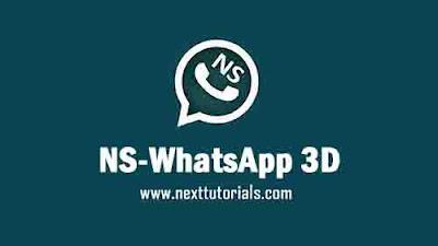 NS WhatsApp v8.86 3D Edition Latest Version Android,intsall Aplikasi NSWA Terbaru 2021,tema nswhatsapp mod keren 2021,download wa mod Anti Banned,