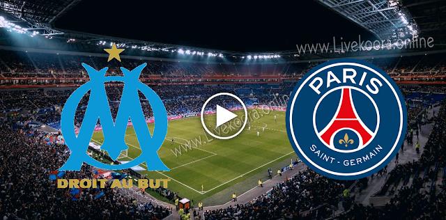 موعد مباراة باريس سان جيرمان ومارسيليا بث مباشر بتاريخ 13-09-2020 الدوري الفرنسي