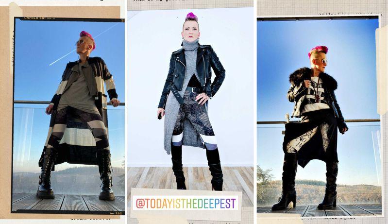 Modetrend 2021 Layering (Fotos mit freundlicher Genehmigung von Nicole)