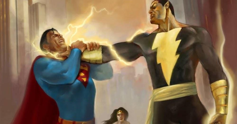 Man Of Steel 2 Villain Rumors Rumor: Dwayne J...