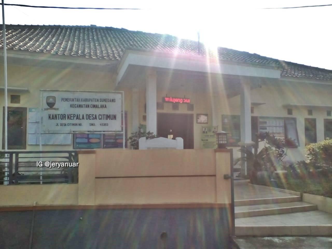 Kantor Desa Citimun, Kab. Sumedang