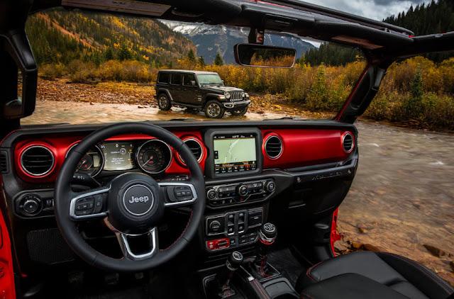Новый интерьер Jeep Wrangler удивляет всех