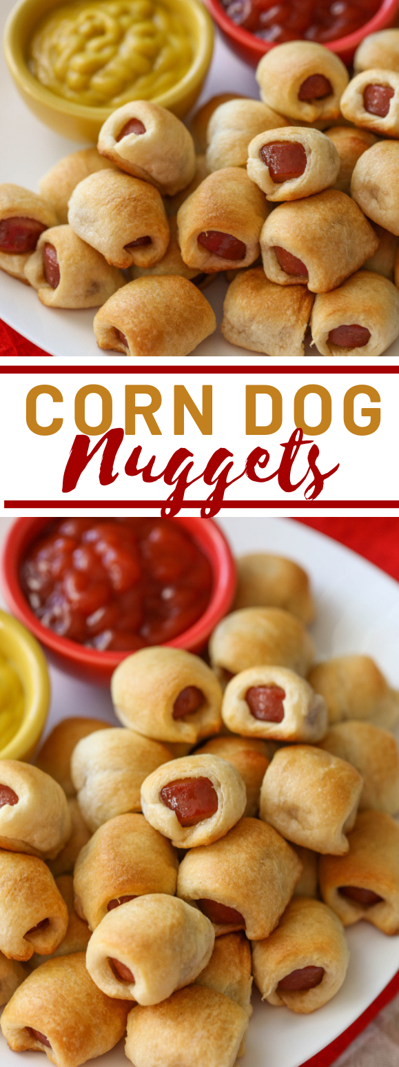 HOT DOG NUGGETS #appetizer #lunch