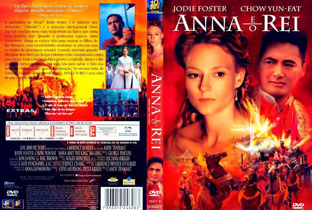 Capa DVD Anna e o Rei