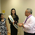 Kylie Verzosa Visits Singapore As Part of her Miss International Duties