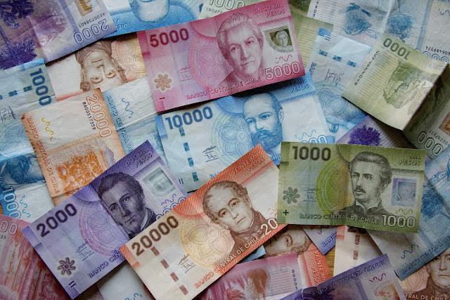 Dinheiro do Chile - Notas de Pesos