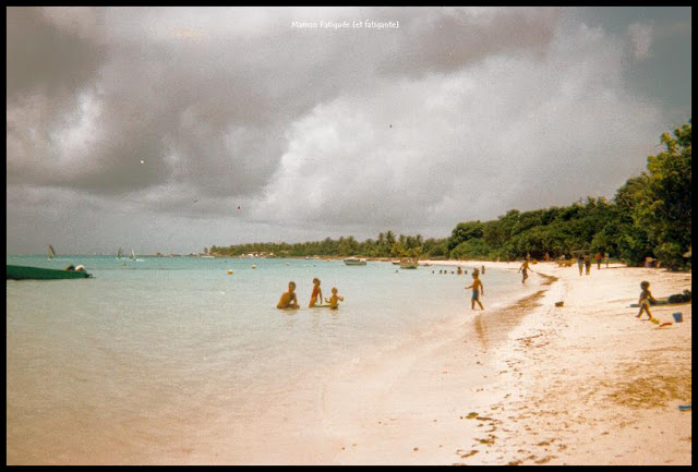 guadeloupe plage st anne 1996