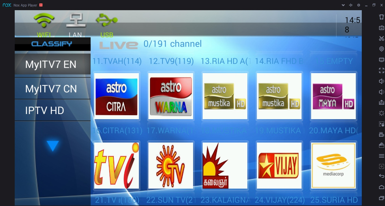 MyITV7 - Best Live TV Malaysia - Kodi IPTV Malaysia