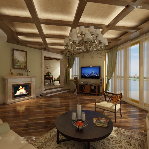 22 Cool Living Room Lighting Ideas And Ceiling Lights: Ceiling Designs