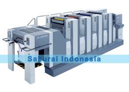 Sakurai Oliver 466 SD-SDP | 4 Color printing machine