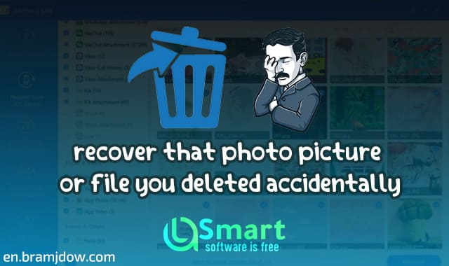 How to recover deleted photos from phone