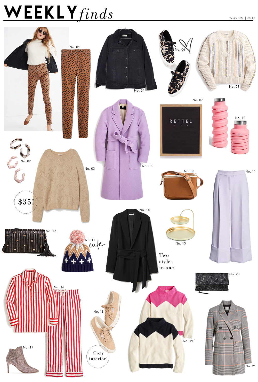 Shopping File: 21 Things to Put On Your Radar