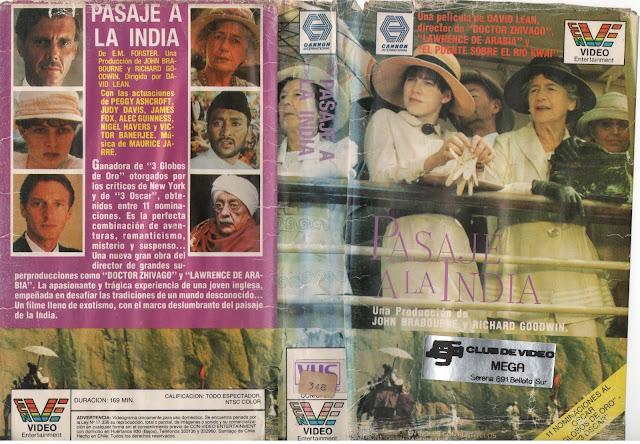 """Pelicula: """"Pasaje a la India"""" (1984)"""