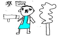 Dibujo por Sacha