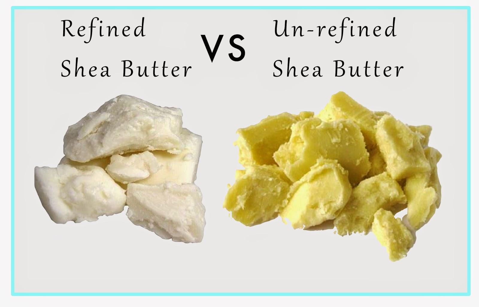 SoapLab Malaysia: Refined vs Unrefined Shea Butter