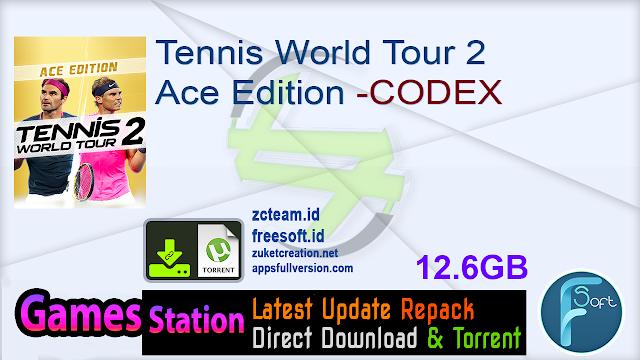 Tennis World Tour 2 Ace Edition -CODEX