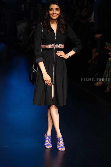 Kajal Agarwal Lakme Fashion Week Hot Pic
